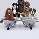 preiswerte Hundespielsachen-L Katze Hund Schalen & Wasser Flaschen Haustiere Schüsseln & Füttern Regolabile / Einziehbar Wasserdicht Tragbar Klappbar Doppel-seitig