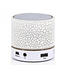 cheap Makeup & Nail Care-Mini Colorful Bluetooth Speakers LED Lights Column Crack Pattern Portable Wireless Loudspeakers Smart Stereo Bluetooth Receiver