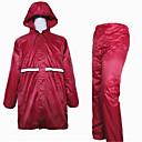 رخيصةأون أدوات المطر-ملابس نارية معطف المطر إلى الجميع البوليستر كل الفصول ضد الماء / دون رائحة / ممطر