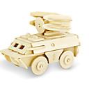 رخيصةأون أقراط-قطع تركيب3D تركيب النماذج الخشبية ديناصور دبابة طيارة اصنع بنفسك خشبي كلاسيكي للجنسين ألعاب هدية