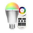 hesapli LED Mısır Işıklar-9W 900lm E27 LED Akıllı Ampuller A60(A19) 18 LED Boncuklar SMD 5730 Wifi Kızılötesi Sensör Kısılabilir Işık Kontrolü APP Kontrol Uzaktan