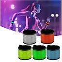 hesapli LED Gereçler-led spor tokat bilek kayışı bant bileklik ışık flaş bilezik parlayan kol bandı
