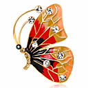 ieftine Ustensile & Gadget-uri de Copt-Pentru femei Broșe Fluture Animal femei Personalizat Lux Clasic Vintage Cristal Diamante Artificiale Broșă Bijuterii Culori Asortate Pentru Crăciun Nuntă Petrecere Zi de Naștere Bebeluș nou Absolvire