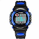 baratos Smartwatches-Relógio inteligente Impermeável Suspensão Longa Multifunções Esportivo Temporizador Relogio Despertador Cronógrafo Calendário No slot Sim