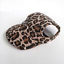 ieftine Gadget Baie-Pisici Câine Bandane & Căciuli Îmbrăcăminte Câini Leopard Maro Nailon Costume Pentru Primăvara & toamnă Vară Bărbați Pentru femei Nuntă
