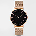 cheap Brooches-Women's Sport Watch Dress Watch Wrist Watch Quartz Water Resistant / Water Proof Creative Alloy Band Analog Charm Casual Elegant Black / Silver / Gold - Black+Golden White+Golden Black / Rose Gold