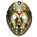 preiswerte Herzstück-halloween porös jason killer maske alt verblasst vintage silber horror hockey cosplay carnaval maskerade partei kostüm prop