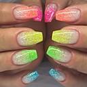 cheap Makeup & Nail Care-12pcs/set Powder / Glitter Powder / Nail Glitter Elegant & Luxurious / Sparkle & Shine / Nail Glitter Nail Art Design