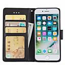 ieftine Carcase iPhone-Maska Pentru Apple iPhone 7 Plus / iPhone 7 / iPhone 6s Plus Portofel / Titluar Card / Cu Stand Carcasă Telefon Mată Greu PU piele