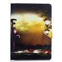 cheap iPad  Cases / Covers-Case For Apple Wallet / Card Holder / with Stand Full Body Cases City View Hard PU Leather for iPad Air / iPad 4/3/2 / iPad Mini 3/2/1 / iPad Pro 10.5 / iPad (2017)