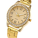 cheap Women's Watches-Women's Quartz Wrist Watch Cool / Casual Watch Stainless Steel Band Charm / Luxury / Casual / Elegant / Fashion Silver / Gold / Rose Gold