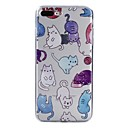 cheap Galaxy J Series Cases / Covers-Case For Apple iPhone X / iPhone 8 Pattern Back Cover Cat Soft TPU for iPhone X / iPhone 8 Plus / iPhone 8