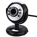 ieftine VGA-webcam camera foto cu usb port reglabil suport încorporat microfon suport volum control led