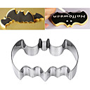 cheap Kitchen & Dining-Stainless Steel Bat Cookie Cutter Cake Mold Halloween Christmas Decor Tool Baking Mold