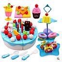 זול צעצועים לכלבים-ערכות עזרה ראשונה מאכלי צעצוע משחקי דמויות ירקות פרי Cake התאמה נינוחה ללא ריח ערכות פלסטיק בגדי ריקוד ילדים יוניסקס בנים בנות צעצועים מתנות 1 pcs