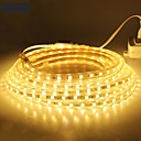ieftine Becuri Solare LED-Leduri de 18m 1080smd 5050 smd 10mm alb cald / alb / roșu impermeabil / tuns 220 v