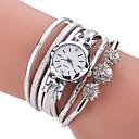 baratos Relógios Femininos-Mulheres Bracele Relógio / Simulado Diamante Relógio Chinês imitação de diamante PU Banda Casual / Boêmio / Fashion Preta / Branco / Azul / Um ano / TY 377A
