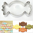 cheap Bakeware-Bakeware tools Stainless Steel + A Grade ABS Stainless Kids Nonstick Baking Tool For Cake For Cookie Fruit Cake Molds 1pc