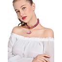 billige Mode Halskæde-Dame Kort halskæde Halskædevedhæng Bohemisk Regnbue Halskæder Smykker Til Fest Daglig