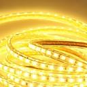 hesapli LED Şerit Işıklar-6m 360 LED'ler 5050 SMD Sıcak Beyaz / Beyaz / Mavi Su Geçirmez 220 V / IP65
