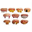 preiswerte Spielzeug Ausstellungsmodelle-Buck Zähne Witze Praktische Witzsachen Halloween-Spielzeug Neuheit Urlaub Geist Lustig & außergewöhnlich Kunststoff Teen Jungen Mädchen Spielzeuge Geschenk 1 pcs