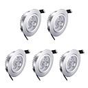hesapli Gömme Işıklar-3W 200lm 3 LED'ler LED Gömme Işıklar Sıcak Beyaz AC85-265
