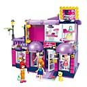 preiswerte Anime Cosplay-ENLIGHTEN Bausteine Modellbausätze 458 pcs Häuser Neues Design Heimwerken Moderne Klassisch Klassisch & Zeitlos Jungen Mädchen Spielzeuge Geschenk