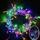 hesapli LED Şerit Işıklar-brelong 1 adet 10m ışık dize 100led ac220 / ac110v / beyaz ışık / sıcak beyaz ışık / rgb / eu / us