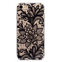 abordables Coques d'iPhone-Coque Pour Apple iPhone 7 / iPhone 7 Plus IMD / Motif Coque Impression de dentelle Flexible TPU pour iPhone 7 Plus / iPhone 7 / iPhone 6s Plus
