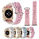 hesapli Apple Watch Ekran Koruyucuları-Watch Band için Apple Watch Series 3 / 2 / 1 Apple Klasik Toka Gerçek Deri Bilek Askısı