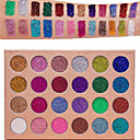 cheap Makeup & Nail Care-24 Colors Eyeshadow Palette Matte / Shimmer / Glitter Shine / smoky Daily Makeup / Halloween Makeup / Party Makeup Daily Cosmetic