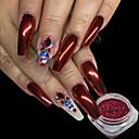 preiswerte Make-up & Nagelpflege-1pc Puder / Glitzerpulver / Nagel Glitter Elegant & Luxuriös / Spiegeleffekt / Strahlend & Funkelnd Nagel-Kunst-Design