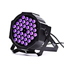 baratos Luzes LED de Cenário-U'King 6 W / 36 W 36 Contas LED Luz de LED para Cenários Roxa 100-240 V / RoHs / CE / FCC