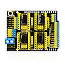 tanie Silniki i części-keyestudio cnc tarcza v3 grawer do arduino