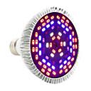 hesapli LED Ampuller-YWXLIGHT® 1pc 12 W 1050-1150 lm E27 Büyüyen ampul PAR30 78 LED Boncuklar SMD 5730 Dekorotif Mor 85-265 V