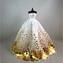 저렴한 헤어 쥬얼리-파티 / 이브닝 드레스 에 대한 바비 인형 폴리 에스터 드레스 에 대한 여자의 인형 장난감