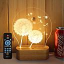 preiswerte Ausgefallene LED-Lichter-1 set 3D Nachtlicht Abblendbar / LED-Lampe / Dekorativ 5 V Künstlerisch / LED / Modern / Zeitgenössisch
