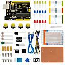 abordables Modules-Kit de panneaux de commande keyestudio uno r3 pour démarreur arduino avec dupont wireledresistorpdf