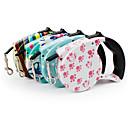 cheap Dog Collars, Harnesses & Leashes-Dog Leash Portable Geometric Nylon Blue / Pink / Rainbow