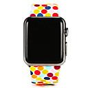 tanie Opaski do Apple Watch-Watch Band na Apple Watch Series 3 / 2 / 1 Apple Pasek sportowy Silikon Opaska na nadgarstek