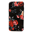 abordables Protections Ecran pour iPhone X-CaseMe Coque Pour Apple iPhone X / iPhone 8 / iPhone 7 Motif Coque Fleur Flexible TPU pour iPhone X / iPhone 8 Plus / iPhone 8