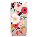 Χαμηλού Κόστους Θήκες iPhone-tok Για Apple iPhone X iPhone 8 iPhone 6 iPhone 7 Plus iPhone 7 Εξαιρετικά λεπτή Με σχέδια Πίσω Κάλυμμα Λουλούδι Μαλακή TPU για iPhone X
