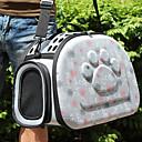 Недорогие Товары для ухода за собаками-Кошка Собака Переезд и перевозные рюкзаки Животные Корпусы Дышащий Любовь Серый Розовый
