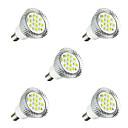 voordelige LED-spotlampen-5 stuks 3W 260-300lm E14 LED-spotlampen E14 / E12 16 LED-kralen SMD 5630 LED Lamp Warm wit / Wit 220-240V