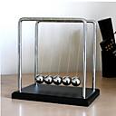 hesapli Dekorasyonlar-Newton Beşik Balansı Topları Stres Gidericiler Eğitici Oyuncak Yerçekimi Türü Metal Süslemeler Stres ve Anksiyete Rölyef Çocuklar için Genç Erkek Genç Kız Oyuncaklar Hediye 1 pcs