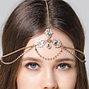 hesapli Saç Takıları-Baş Zinciri Gümüş Düğün Davet/Parti Dışarı Çıkma