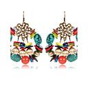 저렴한 귀걸이-여성용 오닉스 드랍 귀걸이 - 빈티지, 우아함 무지개 제품 캐쥬얼 / 데이트
