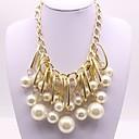 preiswerte Halsketten-Damen Anhänger - Künstliche Perle Klassisch, Modisch Gold Modische Halsketten Schmuck Für Verlobung, Zeremonie