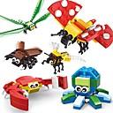 hesapli Magnet Oyuncaklar-SHIBIAO Legolar 301 pcs Hayvan Hayvan Böcek Genç Erkek Genç Kız Oyuncaklar Hediye