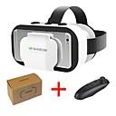 vr shinecon 5.0 gafas realidad virtual gafas 3d para teléfono de 4.7 a 6.0 pulgadas con controlador